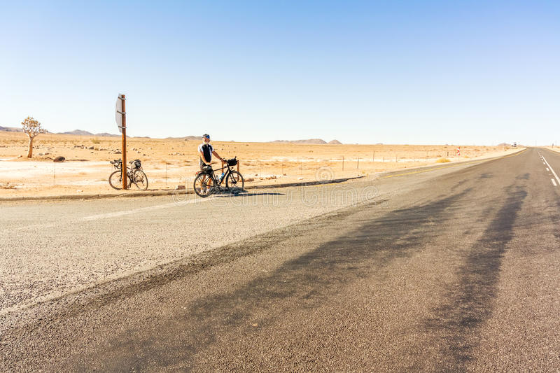 Estrada em África do Sul foto de stock