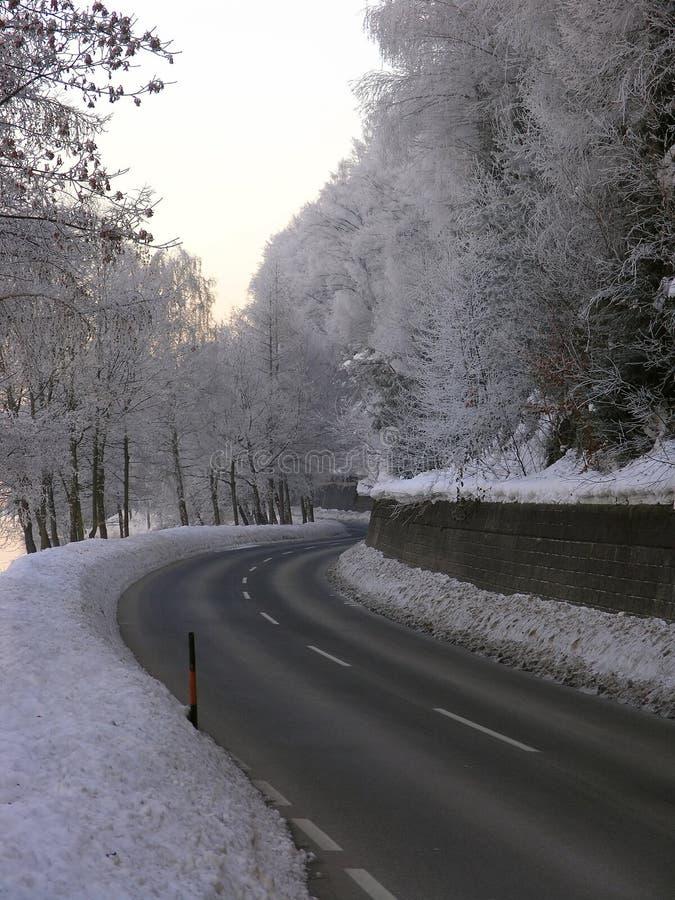 Estrada em Áustria foto de stock royalty free