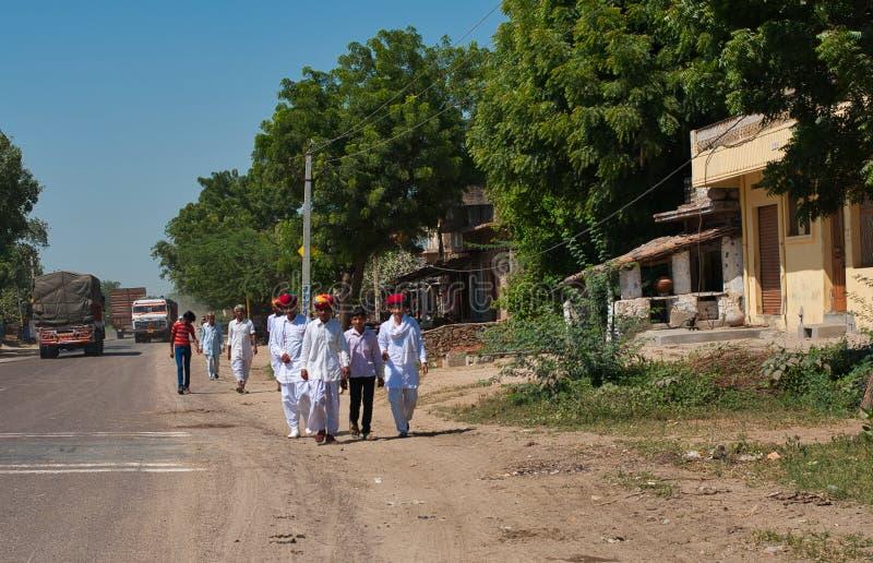 A estrada em Deli imagem de stock royalty free
