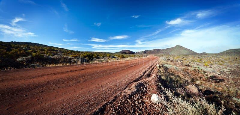 Estrada em Reunion Island fotos de stock