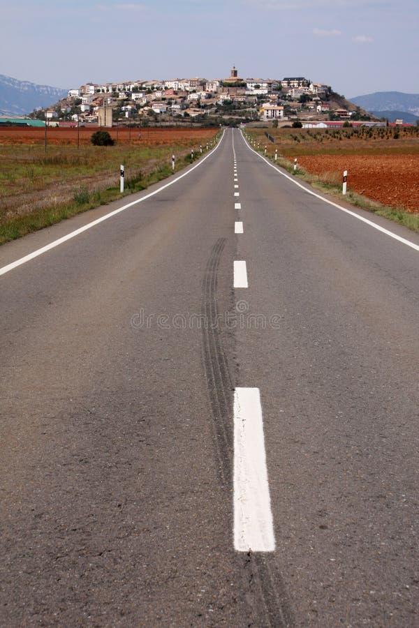 Estrada espanhola foto de stock