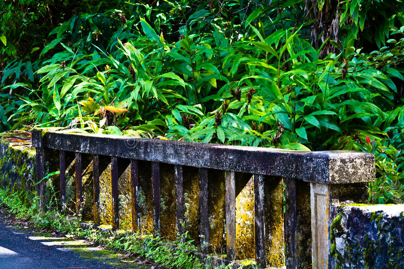 Estrada a Hanna Bridge imagem de stock