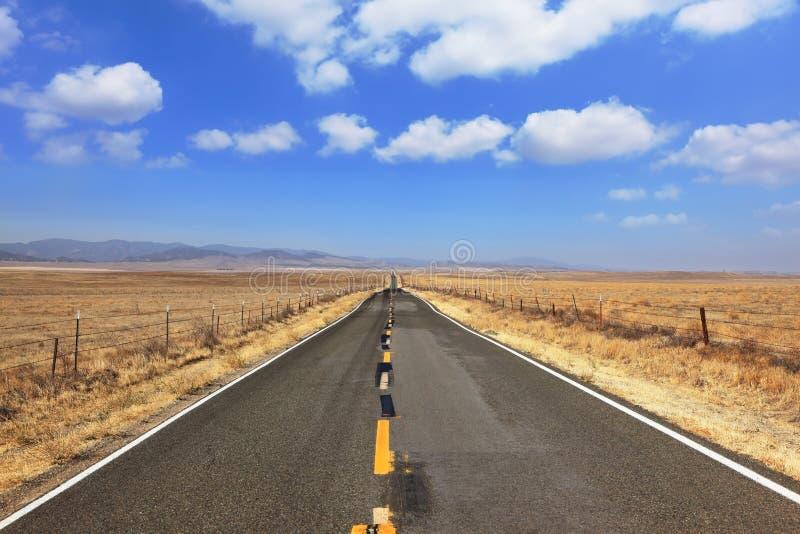 Estrada ideal imagem de stock