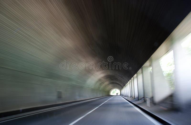 Estrada no túnel foto de stock royalty free