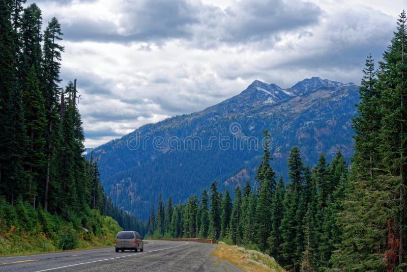 Estrada norte das cascatas foto de stock