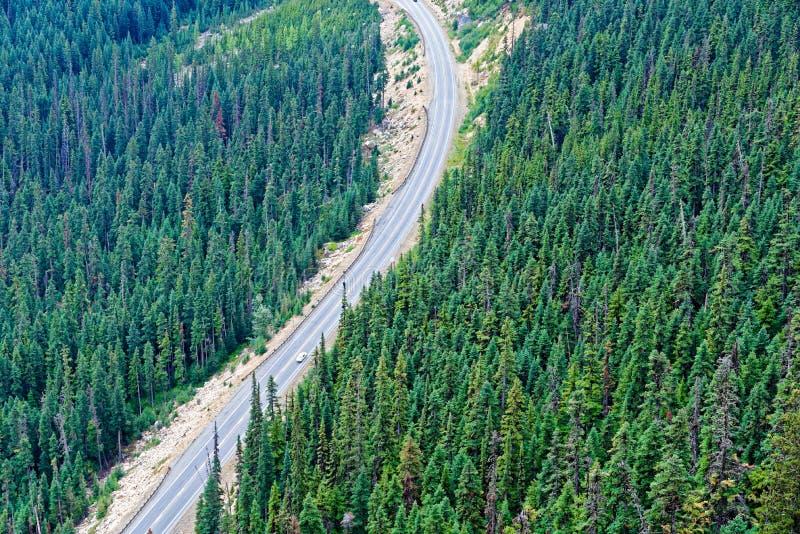 Estrada norte das cascatas foto de stock royalty free