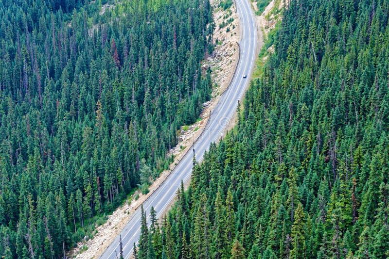 Estrada norte das cascatas imagem de stock