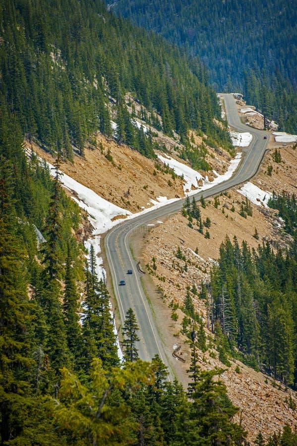 Estrada norte das cascatas imagens de stock
