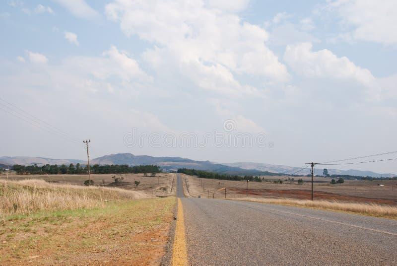 Estrada provincial imagens de stock royalty free