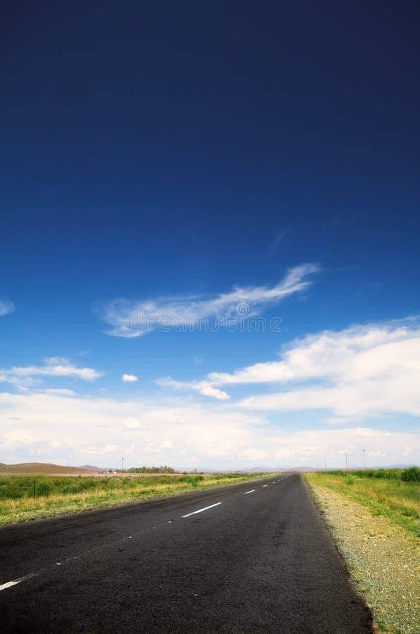 Estrada rural imagens de stock royalty free