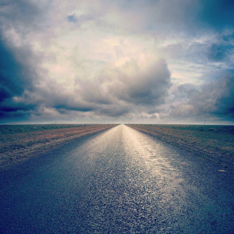 Estrada secundária de Instagram imagem de stock