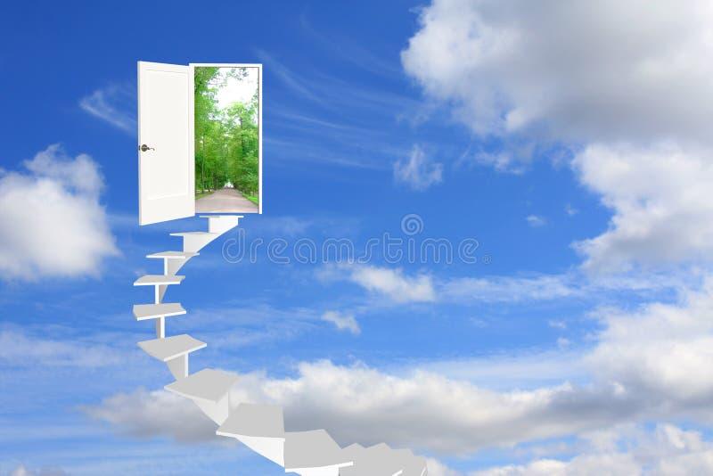 Estrada a sonhar imagem de stock royalty free