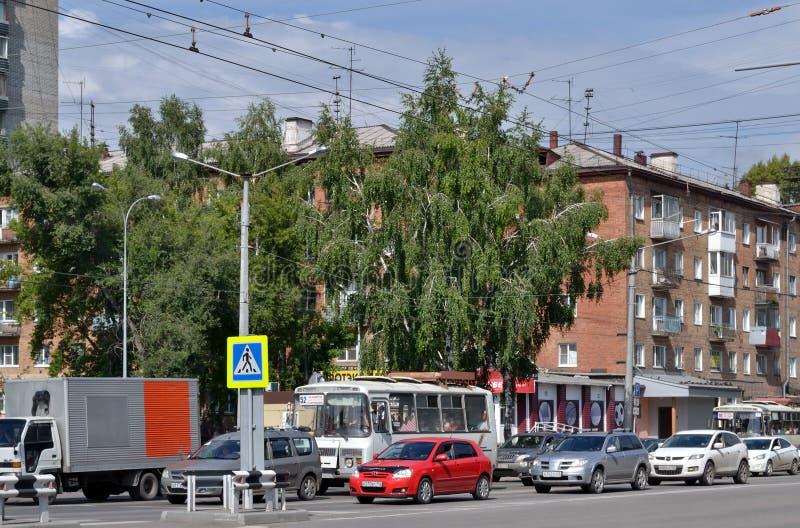 Estrada urbana foto de stock