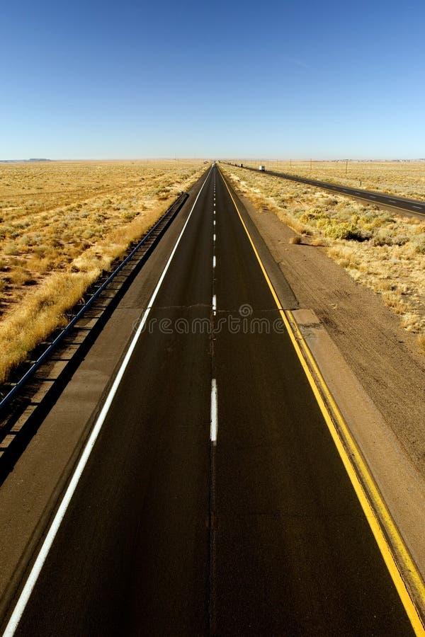 Estrada vazia imagens de stock royalty free