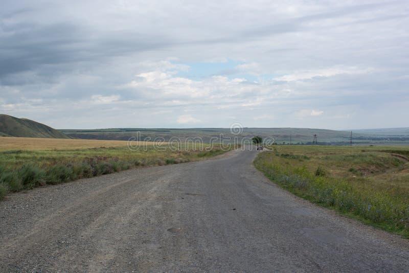 Estradas 'Kapala ' Tempo nublado imagem de stock royalty free