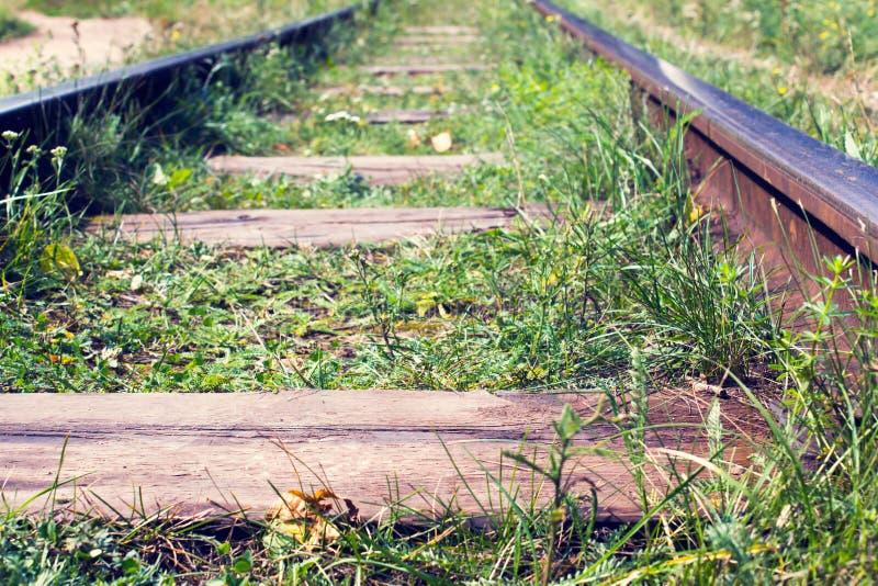 Estradas de ferro fotografia de stock