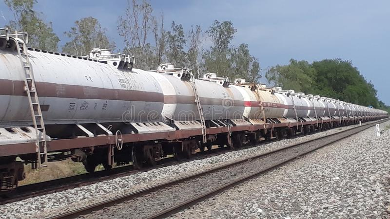 Estradas de ferro indianas imagens de stock