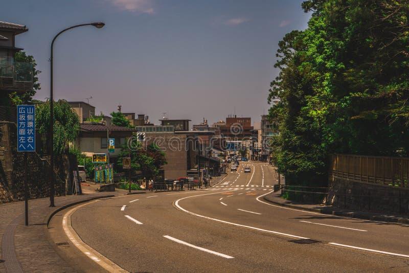 Estradas de Japão foto de stock