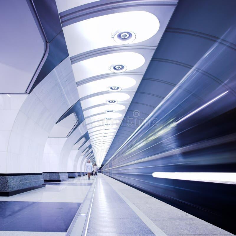 estradowy metro obrazy royalty free