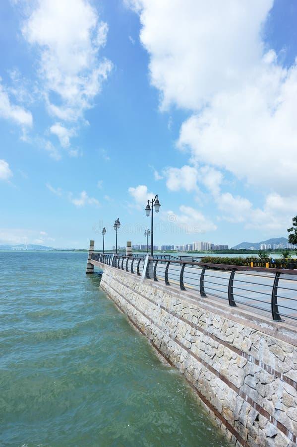estradowy morze zdjęcie stock