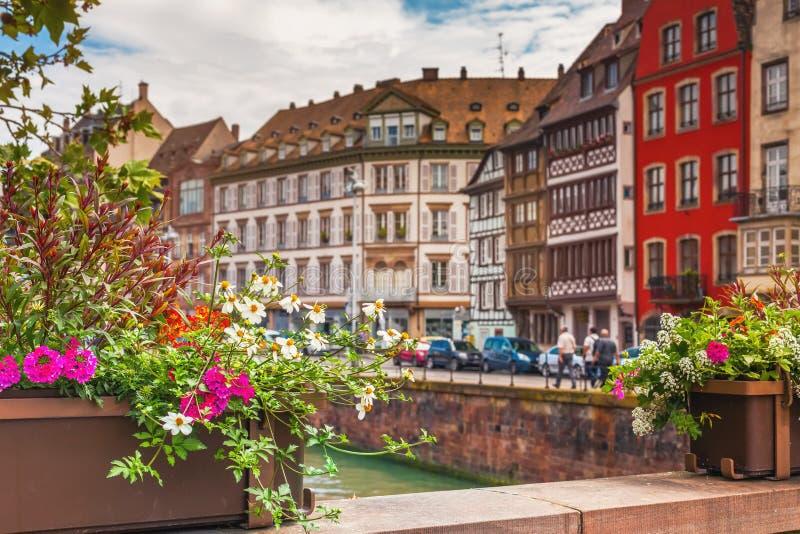 Estrasburgo, Alsacia, Francia fotografía de archivo libre de regalías