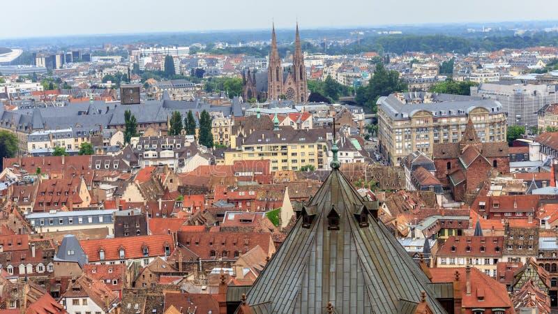 Estrasburgo pintoresca fotografía de archivo