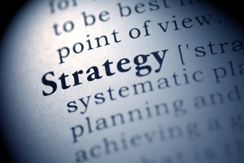 Estratégia imagem de stock
