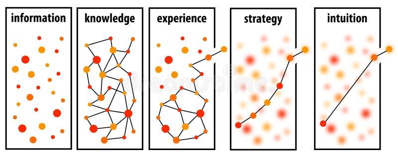 Estratégia da informação ilustração do vetor