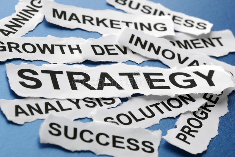Estratégia empresarial foto de stock royalty free