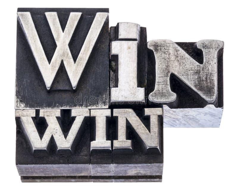 Estratégia vantajoso para as duas partes no tipo do metal fotografia de stock royalty free