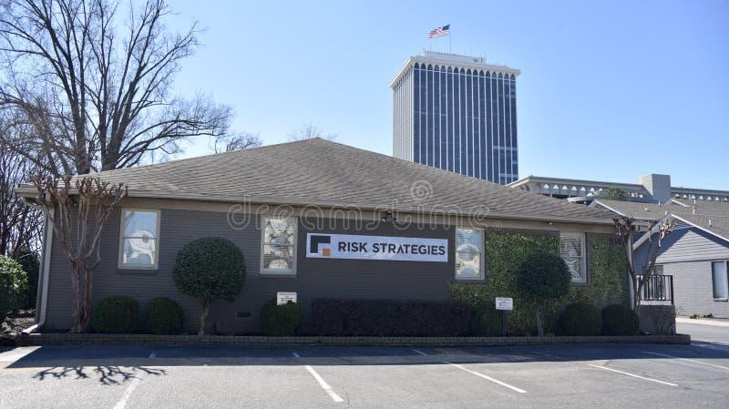 Estratégias do risco, Memphis, TN fotos de stock
