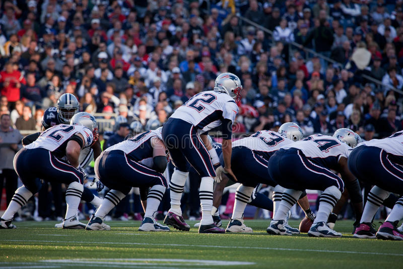 Estratega Tom Brady imagenes de archivo