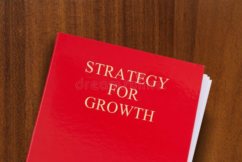 Estrategia para el crecimiento foto de archivo