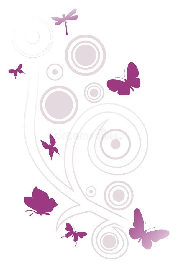 Estratto 4 della farfalla royalty illustrazione gratis