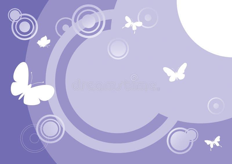 Estratto 6 della farfalla illustrazione di stock