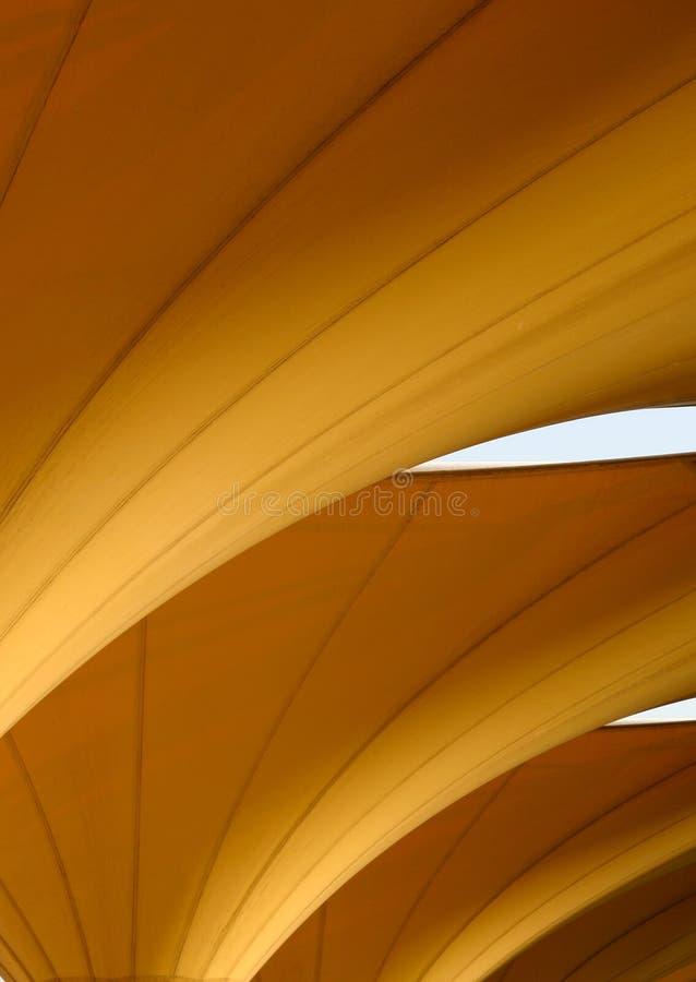 Estratto arancione fotografie stock libere da diritti