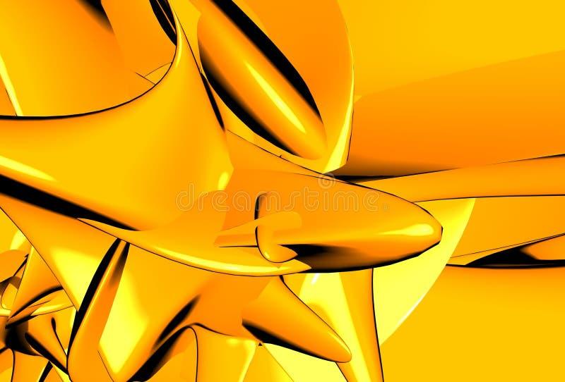 Download Estratto arancione illustrazione di stock. Illustrazione di colourful - 220326