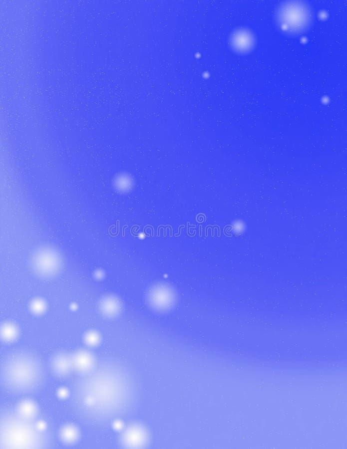 Estratto blu royalty illustrazione gratis