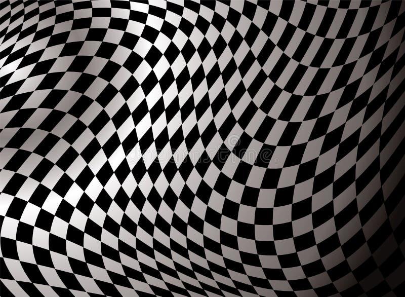 Estratto Checkered royalty illustrazione gratis