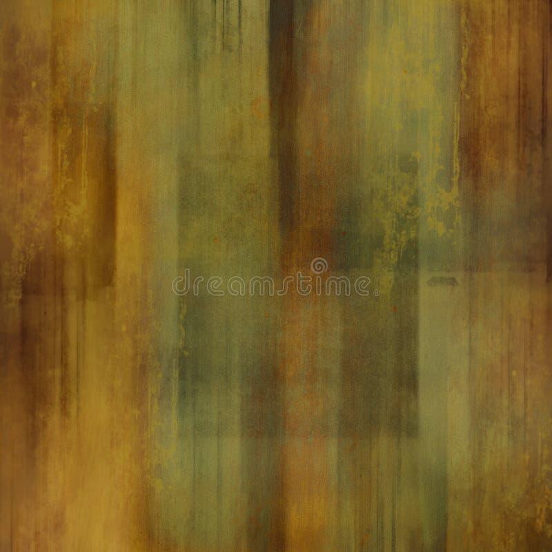 Estratto colore marrone/verde illustrazione vettoriale