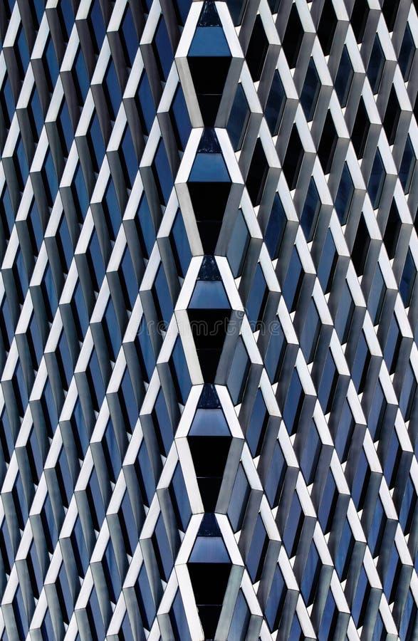 Estratto d'acciaio architettonico fotografie stock