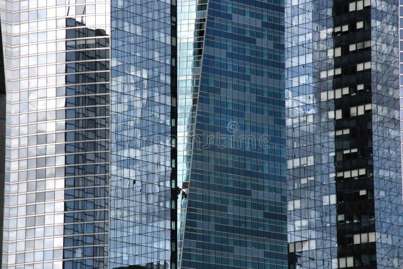 Estratto dei grattacieli fotografia stock