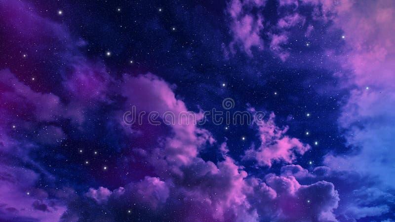 Estratto del cielo immagini stock