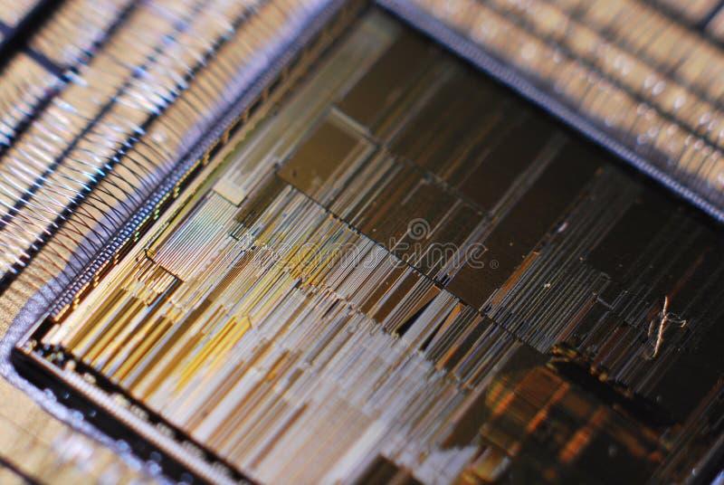 Estratto del CPU immagine stock