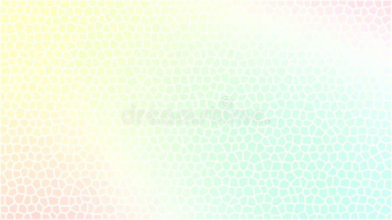 Estratto del fondo di colori dell'arcobaleno della sfuocatura illustrazione vettoriale