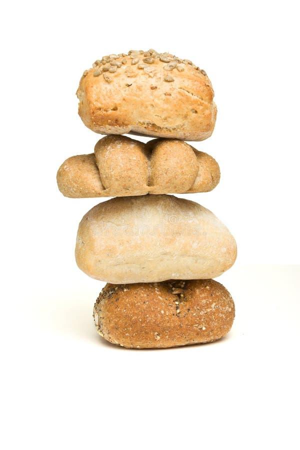Estratto del rullo di pane immagini stock libere da diritti
