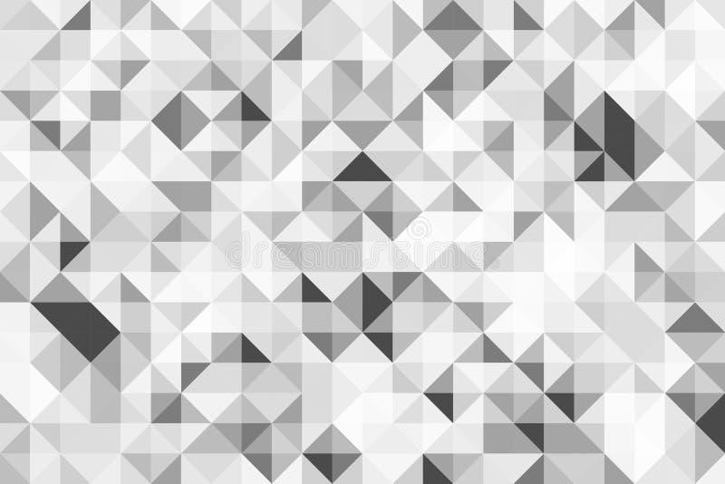 Estratto del triangolo del fondo Modelli di semitono di progettazione del fondo Ambiti di provenienza moderni astratti geometrici fotografia stock libera da diritti