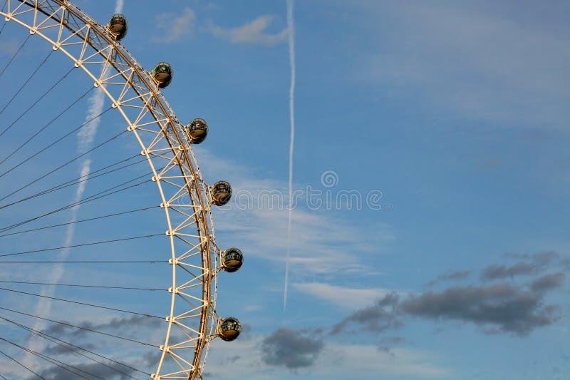 Estratto dell'occhio di Londra immagine stock