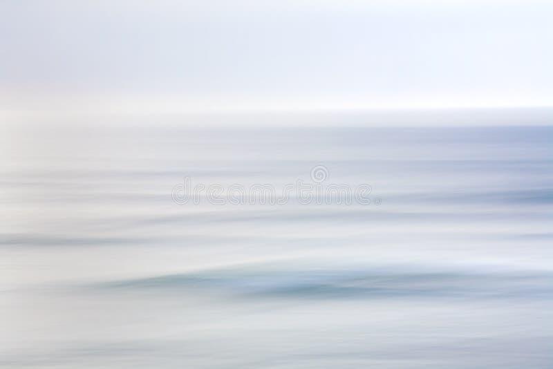 Estratto dell'oceano e del cielo fotografia stock libera da diritti