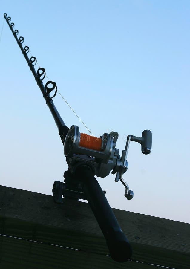 Estratto della canna da pesca immagine stock libera da diritti